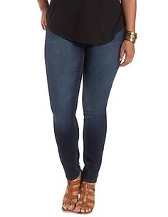 Plus Size Jeans & Denim for Women: Charlotte Russe