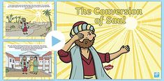 The Conversion of Saul PowerPoint (teacher made)