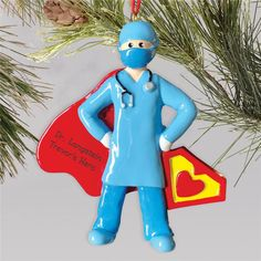 Celebrate your favorite Super Doctor for all their hard work this year and throughout their career with a personalized super doctor #doctorgiftideas #personalizedChristmasgifts #personalizedChristmasornaments #doctorchristmasornaments #coworkergiftideas Personalized Ornaments, Personalized Christmas Ornaments, Christmas Tree Ornaments, Personalized Gifts, Word Art Design, Photo Ornaments, Doctor Gifts, Gifts For Coworkers, Smurfs