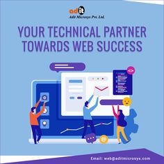 Adit Microsys is a company where style with Innovative and is displayed with smart work and trusted by many leading brands. We focus to work with throughout the global. Website Design Services, Website Development Company, Website Design Company, Mobile App Development Companies, Network Solutions, Banner Design, Web Design, Success, Business
