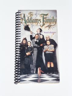 The Addams Family - VHS Movie notebook
