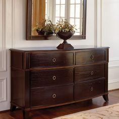 BrownstoneFurniture Metropolitan 6 Drawer Dresser with Mirror Best Dresser, 6 Drawer Dresser, Dresser With Mirror, Dresser As Nightstand, Double Dresser, Dressers, Brown Dresser, Cottage Furniture, Home Furniture