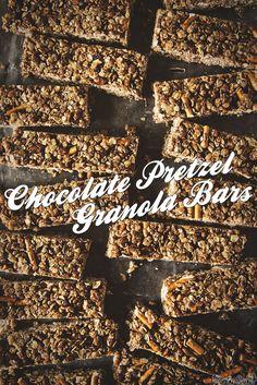Chocolate Pretzel Granola Bar Recipe