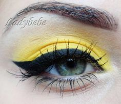 Yellow Make Up. find more looks on bellashoot.com
