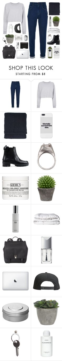 """""""MY TASTE IN MUSIC IS YOUR FACE"""" by f-4bulous ❤ liked on Polyvore featuring Dolce&Gabbana, Maison Margiela, Topshop, RED Valentino, RP/Encore, Kiehl's, Broste Copenhagen, Colbert MD, Brinkhaus and Proenza Schouler"""