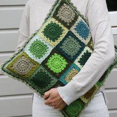 crochet almohadones cojines fundas de cojines de ganchillo almohadas de ganchillo idea ganchillo cojines almohadas cuadrados de la abuelita