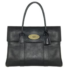 Mulberry - Bayswater in Black Natural Leather