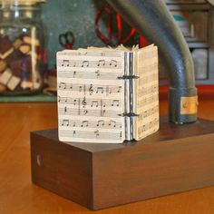 Music Sheet Coptic Bound Journals by The Nib and Quill