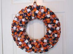 Auburn Wreath I made!