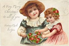 Free image A Very Merry Christmas from VintageMadeForYou. Get your own in blog…