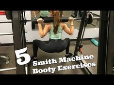 Everything you need to know :) The smith machine is great when you don't have a full gym to work with. Also you can lift some seriously heavy weight using a . Smith Machine Workout, Squat Machine, Bum Workout, Leg Workouts, Workout Tips, Workout Routines, Workout Challenge, Workout Machines, At Home Gym
