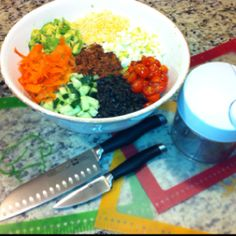 Cobb Salad made easy with Pampered Chef