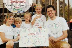 Family Ever After....: Backyard Family Olympics Recap + Giveaway