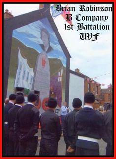 Brian Robinson B Company Mural , Woodvale Belfast. Defenders, Belfast, Northern Ireland, Wall Murals, Scotland, England, America, Culture, Orange