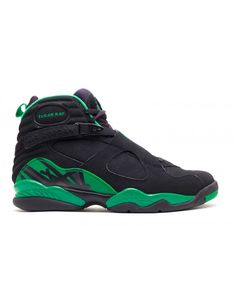 official photos 9d8d3 63d3e Air Jordan 8 Retro Sugar Ray Black Stealth Clover 305381 002