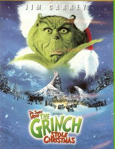 Dr. Suess How the Grinch Stole Christmas..one of my Favorite christmas movies of all time!
