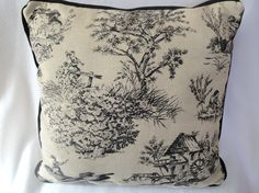 French country pillows.