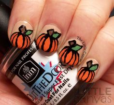 These nails would've been perfect for pumpkin chunk'n.