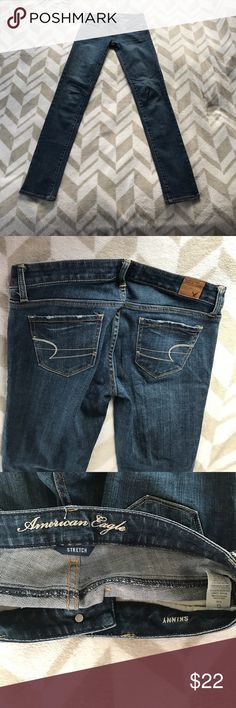 American Eagle Outfitters Size 0 Long Skinny Jeans American Eagle Outfitters Size 0 Long Skinny jeans in excellent condition!! American Eagle Outfitters Jeans Skinny