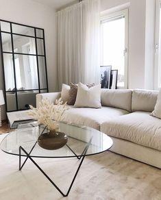 Living Room Decor Cozy, Home Living Room, Apartment Living, Bedroom Decor, Dream Home Design, Beautiful Living Rooms, Dining Room Design, Home Decor Inspiration, Loft