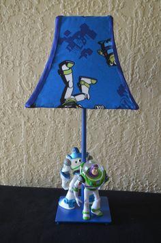 Mr potato head lamp upcycled   Vente Lamp   Pinterest   Potatoes ...:Buzz Lightyear lampe,Lighting