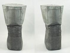 Ruth Hardinger: Ninth Envoy 2008 33 x 15 x inches concrete Installation Street Art, Artistic Installation, Concrete Art, Concrete Design, Ceramic Tableware, Ceramic Clay, Sculpture Painting, Abstract Sculpture, Antique Illustration