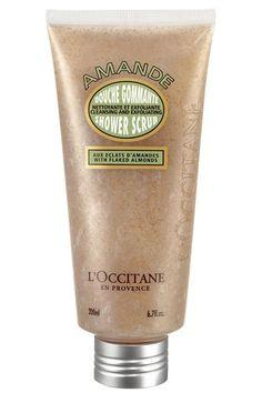 L'Occitane Almond Shower Scrub, or just any L'Occitane product... Or any cool shower scrub, or skin product