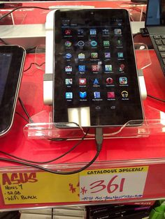 David JB Hifi.  Asus Nexus 7 32GB tablet, $361.00