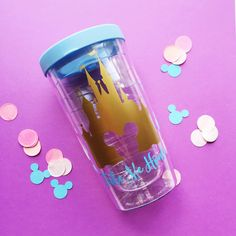 """Welcome to Oh So Fabulous! 16 oz Pacific Double Wall Acrylic Tumbler with Lid in """""""