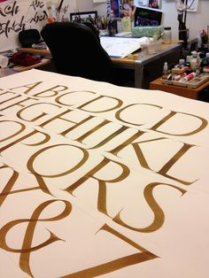 Amity Parks Calligraphy