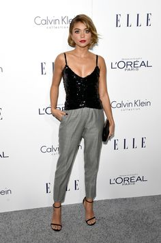Sarah Hyland à la soirée Elle's Women in Hollywood