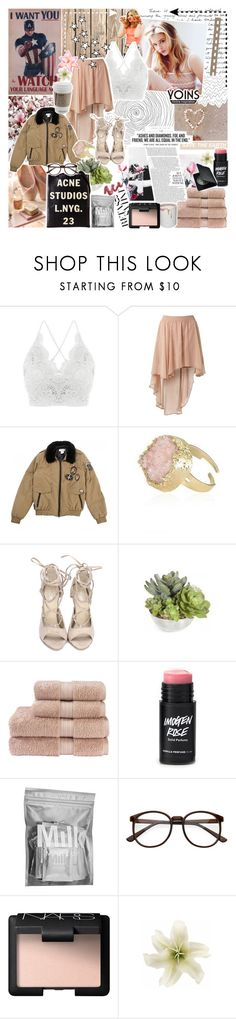 """""""❀} """"but she said, where'd you wanna go"""" // Yoins Collaboration"""" by the-forgotten-wolf ❤ liked on Polyvore featuring Chloé, Lipsy, Paul & Joe, tarte, Christy, MILK MAKEUP, NARS Cosmetics, Clips, yoins and yoinscollection"""