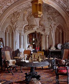 Arab Room - Location: Palacio de Pena Sintra, Portugal..