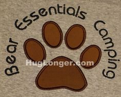 Looking for your next project? You're going to love Applique Bear Paw embroidery file by designer Hug Longer.