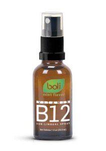 Vitamin B12 Sub-lingual spray | 1 oz | Boli Naturals | Excellent complement to HCG Activation Diet Drops