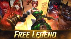 What do you think of this weeks new Legend Rotation? Which is your favorite? Moba Legends, Mobile Game, Thinking Of You, Thinking About You