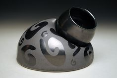 cassius basaltic clay - Google Search Black Clay, Nespresso, Nest, Coffee Maker, Objects, Pottery, Ceramics, Glass, Google Search