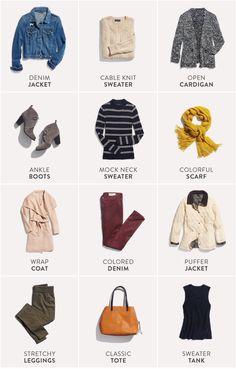 Winter Layering Essentials Stitch Fix