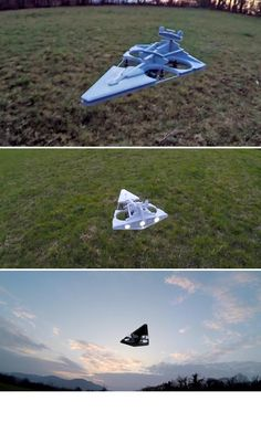 YouTuber and drone-builder extraordinaire Oliver C. is slipping to the Dark Side with his newest addition, an Imperial Star Destroyer drone