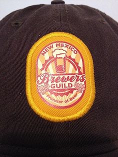 *NEW* NEW MEXICO BREWERS GUILD FRONTIER OF BEER  Baseball Hat Cap by Ouray #Ouray #BaseballCap
