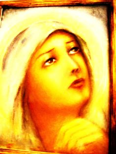 Prayer of St. Mary  Oil painting on canvas  50/35