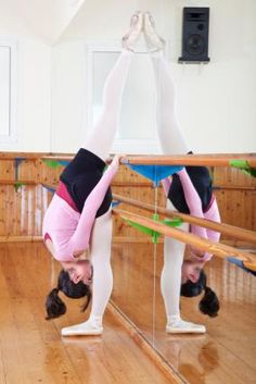 Information about dance studio mirrors, good info even for a home gym that you want just a bar against a mirror for stretching :)