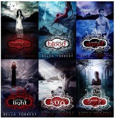 A Shade of Vampire Series - Bella Forrest. A lovely well written story. Ya Books, I Love Books, Good Books, Books To Read, Book Tv, Book Nerd, Vampire Books, Vampire Series, A Shade Of Vampire