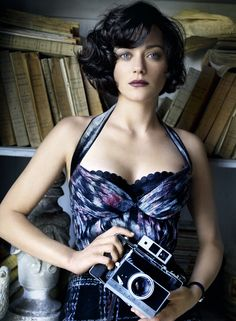 Marion Cotillard: Portrait Of the Artist - Vogue by Mario Testino, July 2010