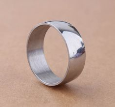 Find More Rings Information about High Quality 8MM Sliver Bevel Smooth bright surface narrow and thin 316L Stainless Steel Ring Band Wholesale Low Price,High Quality steel ring jewelry,China ring lot Suppliers, Cheap steel skull ring from Chinese Jewelry Factory,Wholesale From Yiwu China on Aliexpress.com