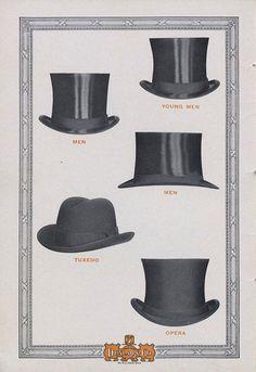 Dunlap & Co. Hatters  New York -verano de 1912