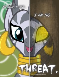MLP - Two Sides of Zecora by *TehJadeh on deviantART