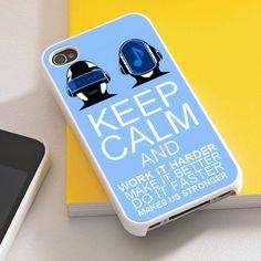 Keep Calm Daft Punk case iPhone Case FBI