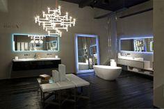 Rifra K.fly+bathtub in cristalplant SMOOTH_01+K.one cemento