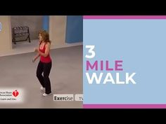 Walk at Home is the world's leading fitness walking brand and creator of the original walking workout. Created by Leslie Sansone, Walk at Home has helped MIL. Pilates Workout, Fitness Workouts, Hiit, Fitness Motivation, Need Motivation, Easy Workouts, At Home Workouts, Dumbbell Workout, Fitness Tips